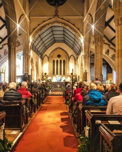 St Andrews Carol service