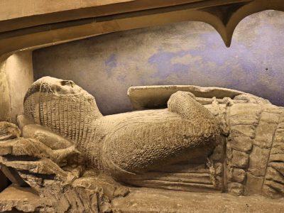 Knights Tomb - close up