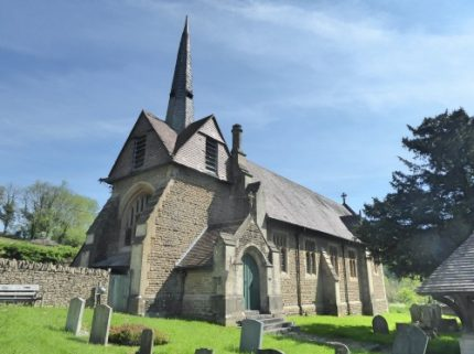 Former church of St John the Evangelist, Ford (now a home)