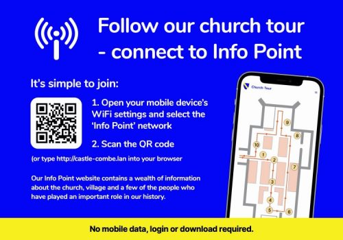 Info point tour map